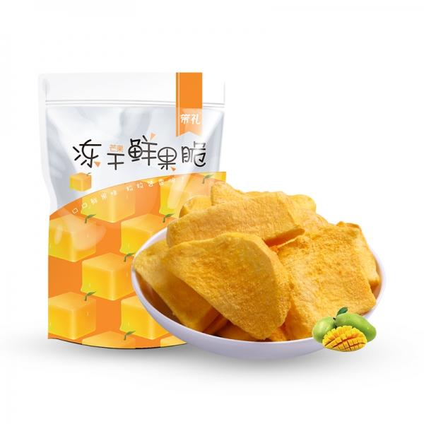芒果冻干鲜果脆30g